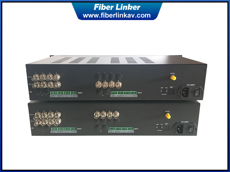 Multiple Two Way 3G-SDI Fiber Extender over single optic cable