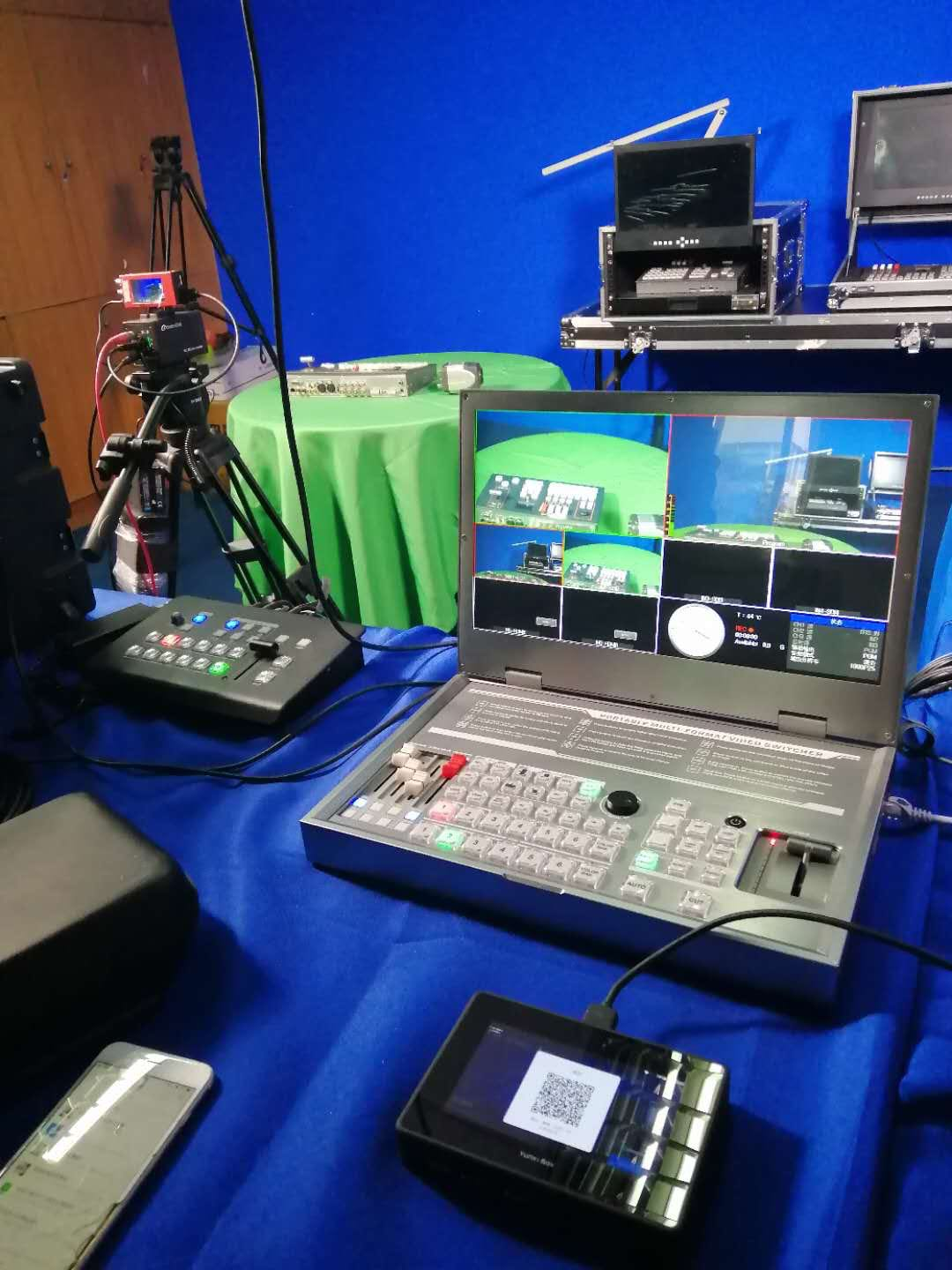 The role and principle of the Tally system in the production of TV studios and OB trucks