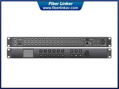 16X16 SDI Matrix Router with multiviewer function